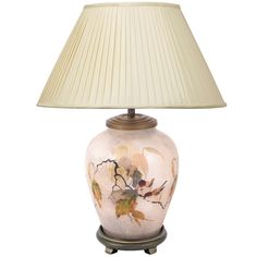 Chinese Bird Table Lamp Base Only