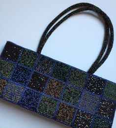 comeco purses   1980s Beaded Purse in Patchwork and Jewel Tones by BarbeeVintage, $24 ...