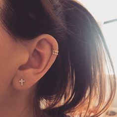 9ct Gold Ear Cuff