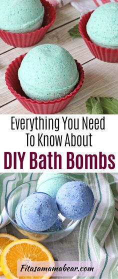 Learn how to make bath bombs at home with these tips and tricks #easydiy #bathbombs #diybathbombs #allnatural #natural #homemadegift #selfcare #essentialoils