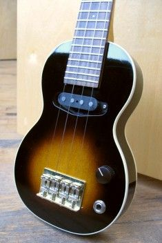lovingly handmade electric ukulele by Specimen.