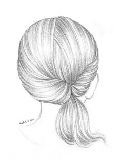 Mode Des Enfants Art Hair Sketch How To Draw Hair Drawings- ponytail hairstyles drawing ponytail hairstyles easy Drawing Techniques, Drawing Tips, Drawing Hair, Hair Drawings, Loose Hairstyles, Girl Hairstyles, Ponytail Hairstyles, Cute Drawings, Pencil Drawings