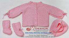 Gratis strikkeoppskrift baby | strikke til baby | strikke babyklær