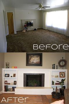 great fireplace makeover