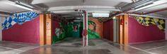 caratart Episode 2: Graffiti Kunst der Münchner Streetart Künstler LOOMIT und LawOne in der Tiefgarage des carathotel München. / caratart Episode 2: Graffiti art by the munich streetart artists LOOMIT and LawOne in the carathotel Munich underground parking. Graffiti Kunst, Fun, Underground Garage, Funny
