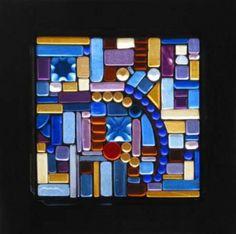 Glass art by Sandy Fifield.