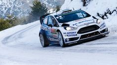 Ford M Sport Fiesta - 2015 Monte Carlo Rally Bike Rally, Rally Car, Ford Rs, Car Ford, Sport Cars, Race Cars, Rallye Automobile, Rallye Wrc, Monte Carlo Rally