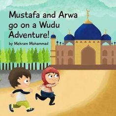 Mustafa and Arwa go on a Wudu Adventure Dotted Drawings, Prayer Position, Kids Education, Teaching Kids, Childrens Books, Activities For Kids, Preschool, Prayers, Adventure