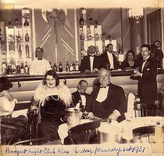 A nightclub, 1931.
