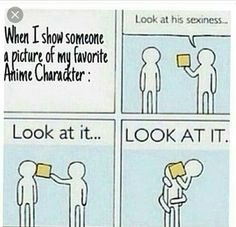 My friend does this to me, But im more into characters with depressing backstories. (I secretly want to suffer, i think)