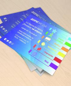 Diseño de flyers de AtipicMedia