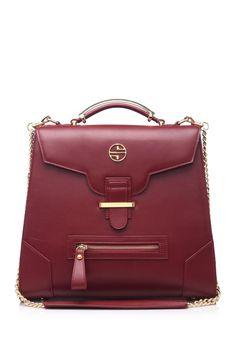 Adelle Leather Satchel by Segolene Noir on @HauteLook