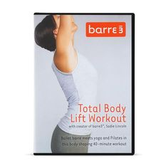 """Ballet barre meets Yoga and Pilates in this body shaping 40 minute workout. This DVD is our first at-home workout and one of our most popular. Fitness Magazine ranked it """"Top DVD Workout"""" in  *Final sale. Ballet Barre, Fitness Magazine, Womens Workout Outfits, Total Body, Body Shapes, Pilates, At Home Workouts, Fit Women, Exercise"""