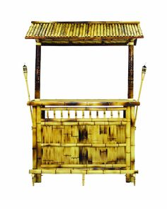 Amazon.com : RAM Gameroom Products 60-Inch Bamboo Tiki Bar : Sports & Outdoors