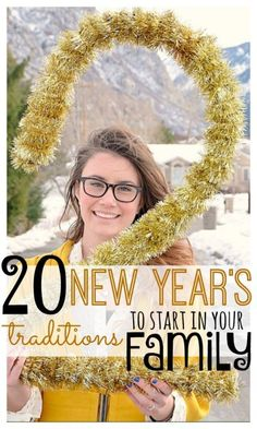 20 New Year's Traditions To Start in Your Family | idea