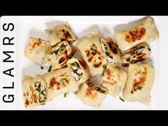 How To Make Chicken Katti Kebab   Tasty Easy Starter Recipes - YouTube