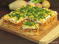Salad on crackers with chicken/ Sałatka na krakersach z kurczakiem Keto Diet For Beginners, Avocado Toast, Crackers, Love Food, Keto Recipes, Grilling, Sandwiches, Food And Drink, Lose Weight