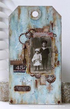 Hello everyone and welcome to a very special post from me today... Back at the end of November, I received a really exciting email ~ I'd been invited by Tim Holtz and Ranger Ink to be a part of this y