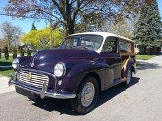 "Tony's 1960 Morris Minor Traveller ""Morris"" - AutoShrine Registry"