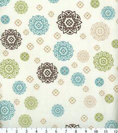 Keepsake Calico Fabric-Aqua Damask Medallion : quilting fabric & kits : fabric :  Shop | Joann.com