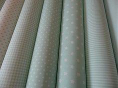 Textil - bavlnené látky -NOVINKA-kolekcia MINT - 3023482