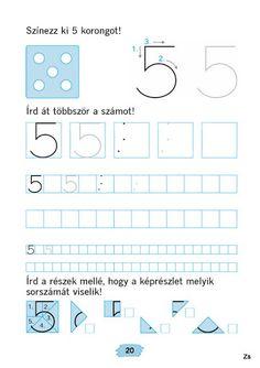 Mozaik Számvázoló 1 - Kiss Virág - Picasa Webalbums Preschool Math, Kindergarten Worksheets, Home Learning, Early Learning, Reception Class, First Grade, Karma, Alphabet, Ideas