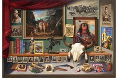 New Jenness Cortez painting 'Window on the West' to be sold at the Coeur d'Alene Art Auction