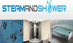 Steam Shower Enclosure Home Steam Sauna, Steam Shower Enclosure, Steam Showers, Bathtub, Cabin, Bathroom, Standing Bath, Washroom