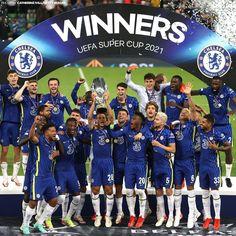 Chelsea Football, Chelsea Fc, Uefa Football, Chelsea Champions, Uefa Super Cup, Club, Baseball Cards, Sports, Storage