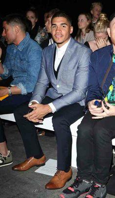 Gentleman look Louis Smith, Gentleman, Athlete, Menswear, Suits, Fashion, Moda, Fashion Styles, Gentleman Style
