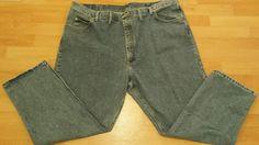 mens Wrangler Blue Jeans 48 x 30 Relax fit 5 pocket #Wrangler #ClassicStraightLeg