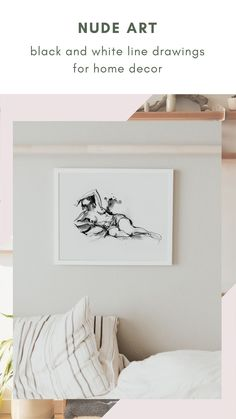 This collection of black and white line art features the body of woman in an elegant and stylish way. An evergreen series for your home decor, with great sensibility and good taste. #artisticprints #blackandwhite #wallartdecor Boho Bedroom Decor, Boho Decor, Black And White Lines, Feminist Art, Watercolor And Ink, Evergreen, Line Art, Wall Art Decor, Fine Art Prints