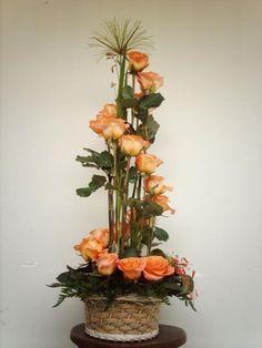 Selecting The Flower Arrangement For Church Weddings – Bridezilla Flowers Altar Flowers, Church Flower Arrangements, Church Flowers, Silk Flower Arrangements, Funeral Flowers, Silk Flowers, Modern Floral Arrangements, Floral Centerpieces, Deco Floral
