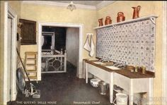 The Queen's Dolls House. Housemaid's Closet UK