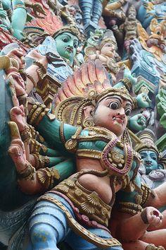 Madurai Temple, India.  www.urbanrambles.com