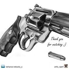 CG art / Lock, Stock and Two Smoking Barrels (Top Gun Tattoo) Revolver Tattoo, Tattoo Design Drawings, Tattoo Sketches, Tattoo Designs, Car Drawings, Gangster Tattoos, Skull Rose Tattoos, Body Art Tattoos, Voodoo Tattoo