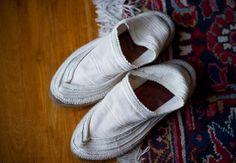 Persian giveh shoes