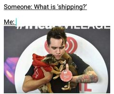 I don't really ship things, but this is funny.