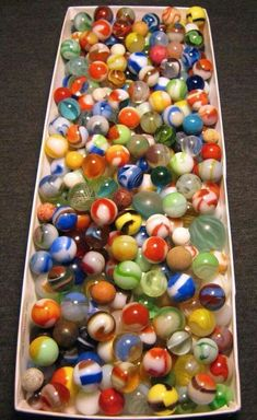"Earth Pee Wee Marbles Mega ~75 Round Small 5//8/"" Display Stand For Cateye"