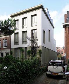Hoflaan House, Rotterdam, Netherlands by Maccreanor Lavington
