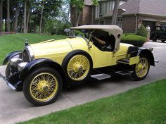 1923 Kissel 6-45 Speedster....one of three known to exist..note the outrigger suicide seats.....