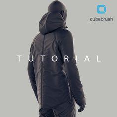 Marvelous Designer Tutorial: Making A Jacket, Madina Chionidi on ArtStation at https://www.artstation.com/artwork/PKG1r