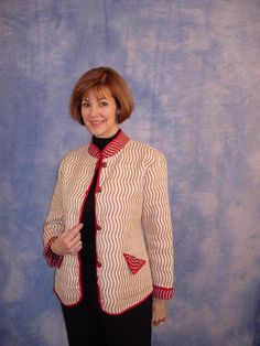 On the Flip Side, a seminar by Marsha McClintock of SAF-T-POCKETS Patterns, about reversible garments
