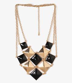Un collier géométrique