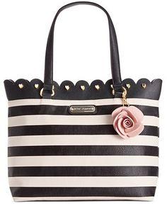 Betsey Johnson Scalloped Tote - All Handbags - Handbags & Accessories - Macy's