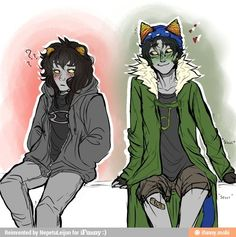 Am I the only one who thinks genderbent Nepeta is absolutely adorable?