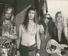 """Alice In Chains """"We Die Young"""" photo shoot Mike Inez, Mike Starr, Jerry Cantrell, Mad Season, Layne Staley, Alternative Metal, Alice In Chains, New Bands, Progressive Rock"""