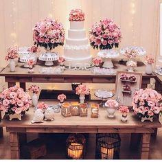 Inspiração decoração íntima, romântica e delicada! Se inspirem ❤️ Via @noivasnegras #inspiracaocasamento #noivas2018 #ideiasparacasamento #decoraçãoparacasamento #voucasar#wedding - #regrann