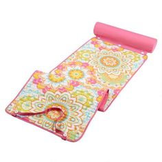 One of my favorite discoveries at ChristmasTreeShops.com: Pink Starburst Roll-Up Beach Mat
