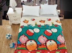 Плед детский из фланели БАМБИНО VAR-11 150х200 от Cleo (Китай) - купить по низкой цене в интернет магазине Домильфо